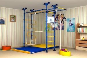 Спортивный детский комплекс для дома