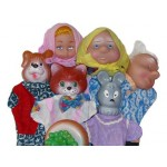 Игрушки для кукольного театра | Куклы перчатки, ширмы