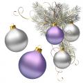 Шарики новогодние, украшения для елки