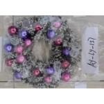 Новогоднее украшение Венок 40 см.хвоя, шары АY-LY-157