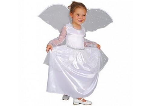 Детский карнавальный костюм Ангел с крыльями 4-6 лет