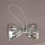 Галстук-бабочка карнавальный блестящий Е03-5131