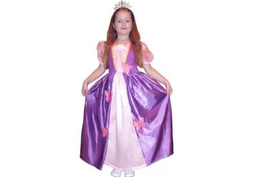 Детский карнавальный костюм принцессы бабочек 4-6,7-10,11-14