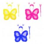 Карнавальный набор Бабочки (крылья,ободок,палочка) Е91186