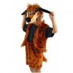 Карнавальный костюм Пес Шарик плюш размер 4-7 лет 89041