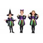Детский карнавальный костюм летучей мыши/маленькой колдуньи/волшебного паучка
