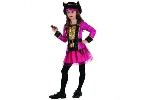"""Детский карнавальный костюм """"Пиратки"""" 120-130 см"""