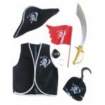 Карнавальный набор пирата 4-6