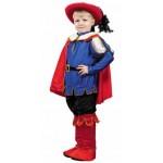 Карнавальный костюм Кот в сапогах размер 122 см (текстиль)