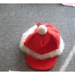 Кепка карнавальная с мехом, красная С-2034С