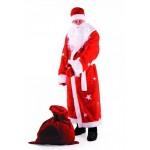 Карнавальный костюм Дед Мороз красный рост до 188 см