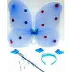 Карнавальный набор крылья бабочки, палочка, ободок-рожки Е91183