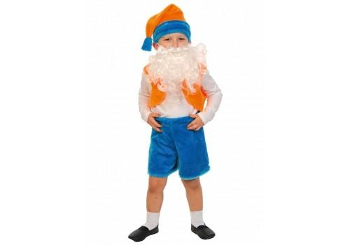 Детский карнавальный костюм Гномик лайт 98-110 см 3003