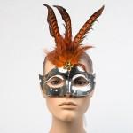 Карнавальная маска с перьями Е03-1671