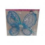 Карнавальный набор крылья бабочки двойные,ободок,палочка 3038