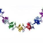 Новогодняя гирлянда-растяжка ромашка 2,5 м