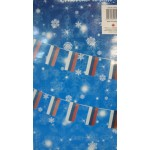 Новогодняя карнавальная растяжка Российский флаг 12х25 см 3 м