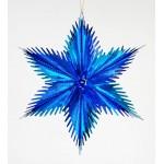 Новогодняя Звезда из фольги 30 см Н121201SВ