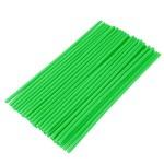 Палочка зелёная для надувного шарика универсальная (упаковка 100шт.)