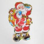 Дед мороз из бумаги 38 см Е03-1766