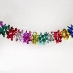 Новогоднее украшение Гирлянда из фольги Е03-1824