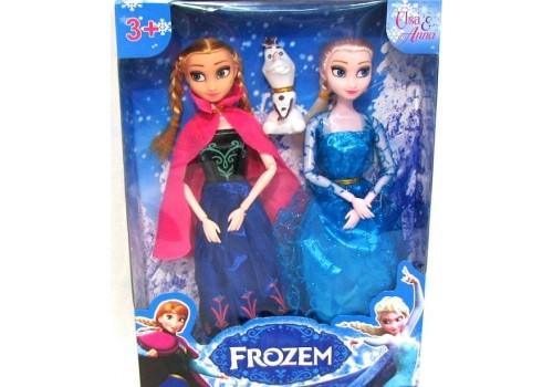Набор кукол Холодное сердце со снеговиком 2094