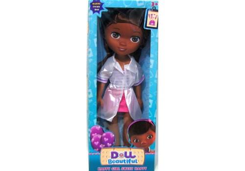 Кукла Доктор Плюшева К551-1 34 см