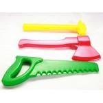 Набор детский столярный (ножовка,топор, молоток) У613