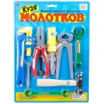 Набор детских инструментов Кузя Молотков ZYK-009С-4