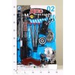 Набор оружия на блистере ХС-8621