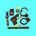 Военный набор аксессуаров полицейского Х44-6Д