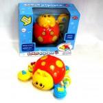 Интерактивная игрушка Божья коровка, свет, звук 7580/DT