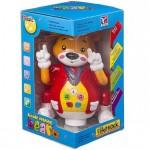 Интерактивная игрушка светящийся и танцующий музыкальный Медведь BT-2205E