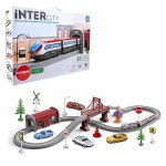 Железная дорога Город, скорый электропоезд 67 деталей InterCity Express Т20831