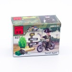Конструктор 827 Разведчик на велосипеде В050-Н26295