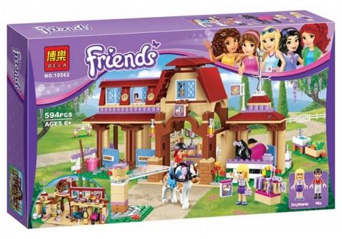 """Конструктор Friends """"Клуб верховой езды"""" 594 детали 10562"""