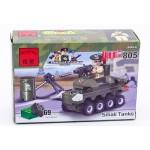 Конструктор Enlignten малый танк 805