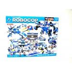 Конструктор Robocop 825 деталей 320 8 в 1