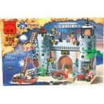 Конструктор 310 Пиратская крепость 327деталей В050-Н26235