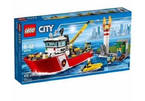 Конструктор Lepin City Пожарный катер 02057 412 деталей