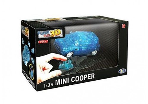 Пазл 3D Машина Mini cooper 57073 G008-Н26017