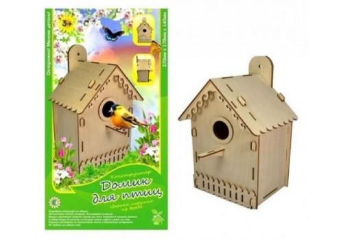 Деревянный конструктор Домик для птиц