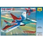 Сборная модель Самолет МиГ-29 Стрижи 7234