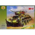 Сборная модель Советский легкий Танк БТ-7 с экипажем 3545