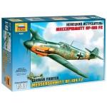 Сборная модель. Немецкий истребитель Мессершмитт BF-109 F2 4802