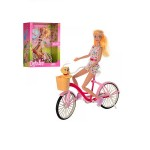 Кукла Defa Lucy Велопрогулка 27 см 8276