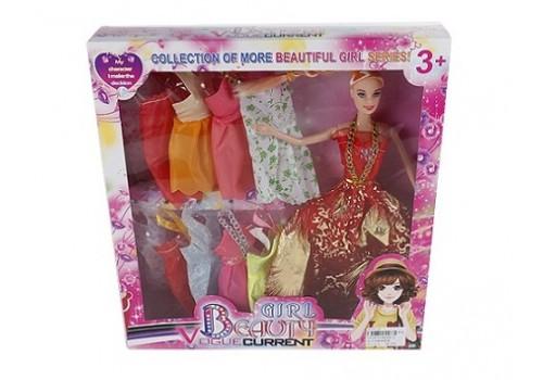 Кукла с платьями в коробке 8840В-4