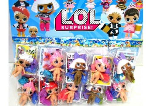 Кукла ЛОЛ с аксессуарами в пакете