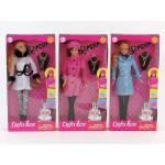 Кукла Defa Lucy с зимней одеждой и аксессуарами 8293