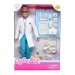 Кукла DEFA Lucy Папа ветеринар с аксессуарами 8347